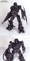 Leader class DOTM Shockwave by Unicron9