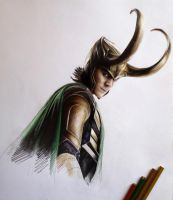 Loki by MaryRiotJane