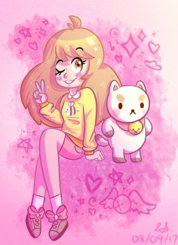 Bee And Puppycat by typhsketch