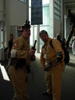 NekoCon Photo 2 - Ghostbusters by CNCGB