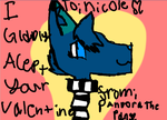 *Late* To Nicole! by Pandora-The-WolfFox