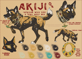 Akiji Reference Commission by WolvenBird