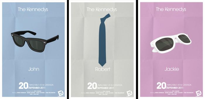 The Kennedy's Minimal Poster by Chadski51