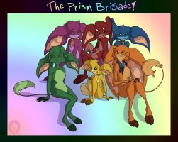 THE PRISM BRIGADE by In-Tays-Head