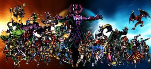 Marvel VS Capcom 3 all Characters by ighor5