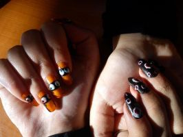 Eye nails by MorticiaVamp