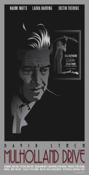 MULHOLLAND DR. - DAVID LYNCH - poster by P-Lukaszewski