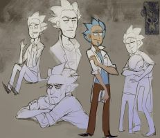 Rick sketchpage 1 by Smooshkin