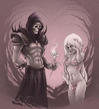 Hades and Persephone by aleksandracupcake