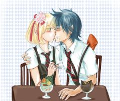 AnE: First Kiss with Ice-Cream by Joichiroll