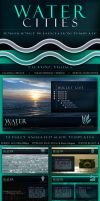 Water Cities - PowerPoint Presentation Template by CauseThought