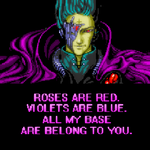 ROSES RED VIOLETS BLUE ALL MY BASE BELONG TO YOU by ToasterDefinition