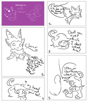 Moving in with Cheur pg.1 by Azelforest