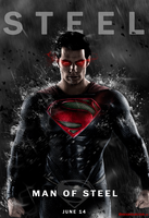 Man of Steel - TDKR poster by Dreed-06