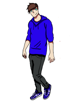 Jack Frost new life : Jacks design by BlueLightSky98