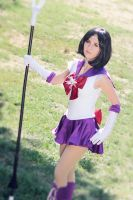 Sailor Saturn cosplay by smallchan