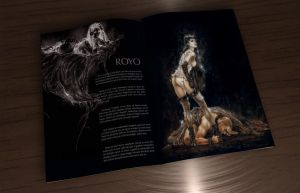Editorial: Luis Royo I by tomate-cereja