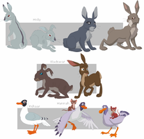 Watership Down charas part6 by shuvuuia