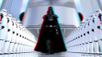 Darth Vader Arrives (Anaglyph 3D) by ArtFunart4fun