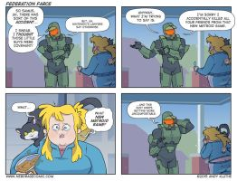 Nerd Rage - Federation Farce by AndyKluthe