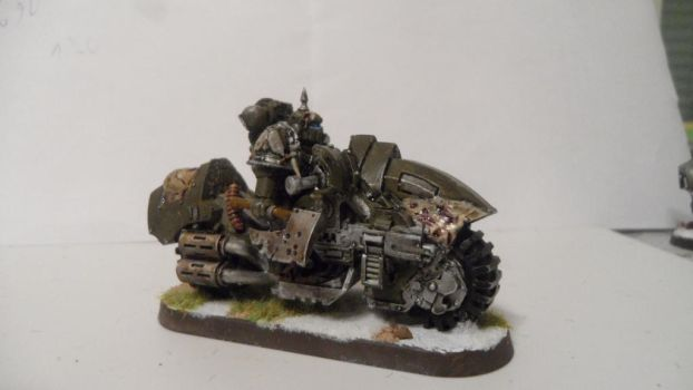 Nurgle Chaos biker  picture 2 by Dible