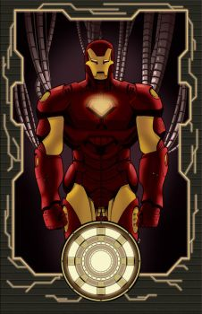 .....Extremis Iron Man..... by thelearningcurv
