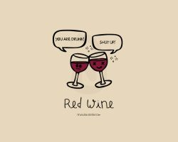 Red Wine by nnia