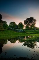 Reflected Dawn by taffmeister