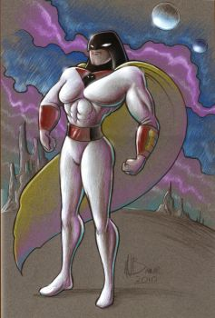 Space Ghost by MJBivouac