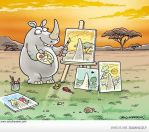 Rhino Artist by x-EQ-x