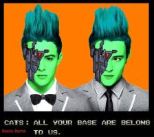 All your base are belong to Jedward by BoscoBurns