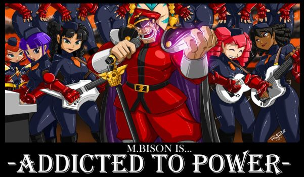M.bison And The Shadoloo Dolls by ShoNuff44