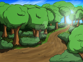 Bg2 Forest Path by Yangsl