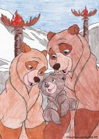 10 Brother Bear- Happy Family by liliesgrace