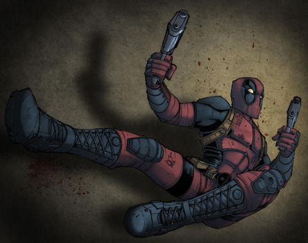 Deadpool by KidNotorious