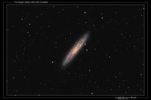 The Sculptor Galaxy by octane2