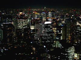 Night View From Tokyo Tower 4 by theblindalley