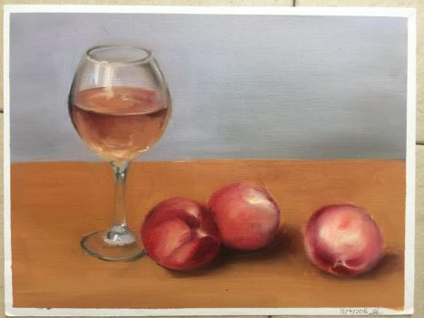 Peaches and Wine by HinotoriProductions