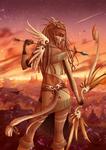 The archer : Sagittarius by Lily-Fu