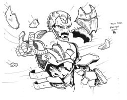 Iron Man Armour On! by Arddy24