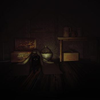 Attic Ghost by Goldenthrush