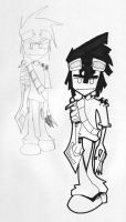 Concept Sketch: Amy's Brother by brooxweb