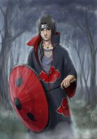 Itachi: the rain is over. by Sikarbi
