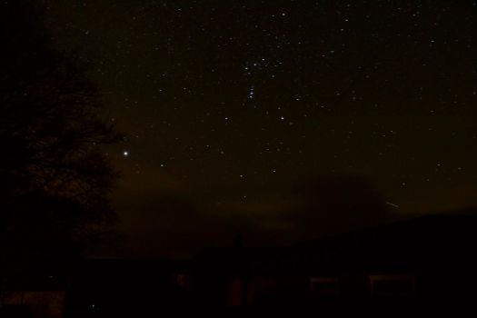 Orion over Kielder by Coconutdawn