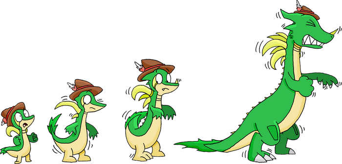 Snivy Dragon TF (Part 1 of 2) by TheGuyNoOneRemembers