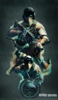 Ghost Recon Future Soldier Official Art #1 by DarkApp