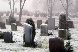 Snowy Cemetery 1992293 by StockProject1