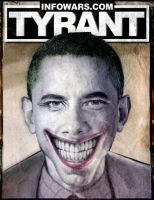 The Obama Joker Poster by virtuadc