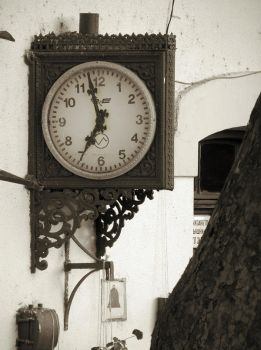 Railway station clock by Ovcaa