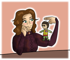 Doctor Who - Genius and Plush by PrincessHannah